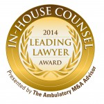 The Ambulatory M&A Advisor In-House General Counsel Award