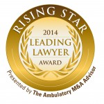 The Ambulatory M&A Advisor Rising Star Award 2014