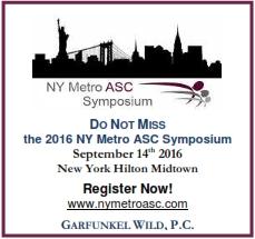 NY Metro ASC Symposium 2016